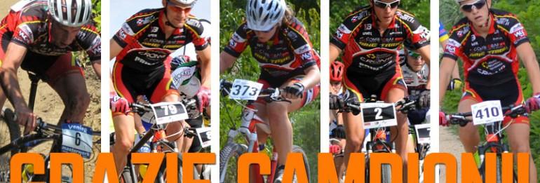 Il Bike Tribe premiato per la stagione 2013: è il team di mtb più titolato in provincia di Treviso!