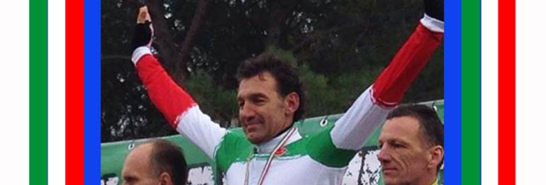 Giuseppe Dal Grande è Campione Italiano di Ciclocross M5.