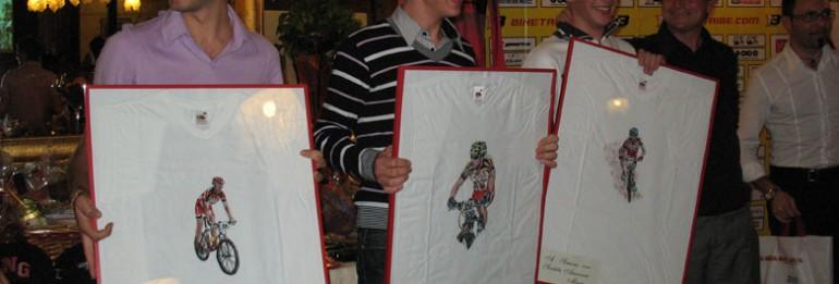 Serata di premiazioni per la stagione 2008