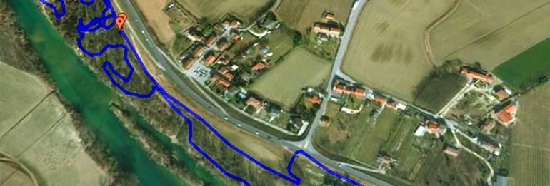 5° Cross Country del Piave: tracciato definitivo.