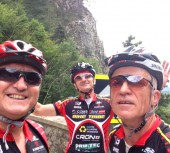 I Leoni di Baviera: Roberto Gallinelli, Renato Rainato e Walter Coden, sono arrivati a Monaco!