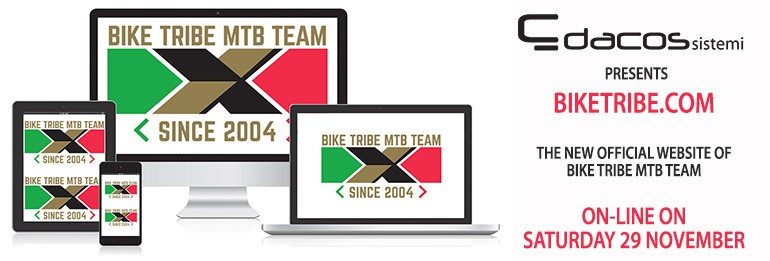 E' on-line il nuovo sito del Bike Tribe Mtb Team!