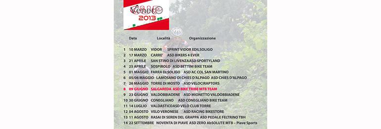 Calendario Veneto Cup 2013: a Salgareda si corre il 9 Giugno!