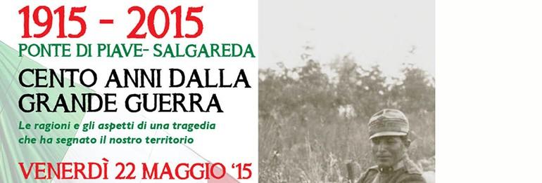 Salgareda celebra il Centenario della Grande Guerra