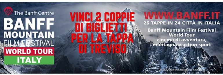Banff Mountain Film Festival: in palio i biglietti per la tappa di Treviso!