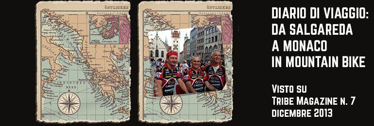Diario di viaggio: Salgareda-Monaco di Baviera in mtb