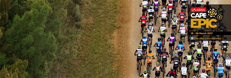 Al via la Absa Cape Epic!