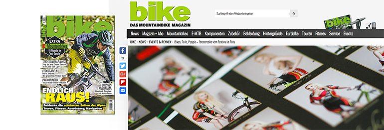 Vetrina Europea  per il Bike Tribe su Bike Magazine!