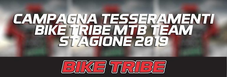 Campagna Tesseramenti Stagione 2019.