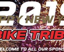 HAPPY NEW YEAR BIKE TRIBE!