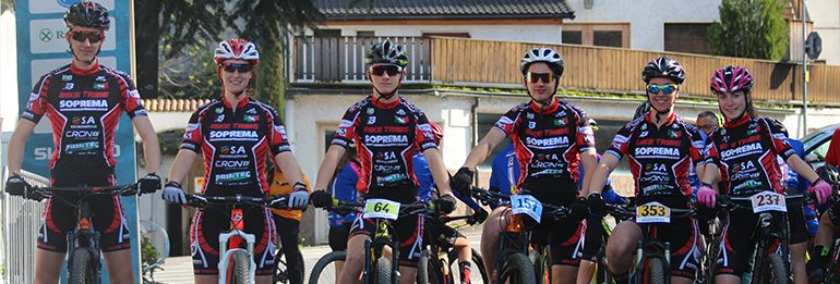 Il Bike Tribe agli Internazionali d'Italia di Nalles.