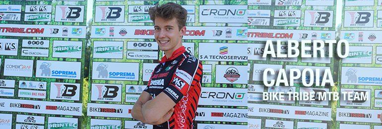 Alberto Capoia in rimonta a Pontida.